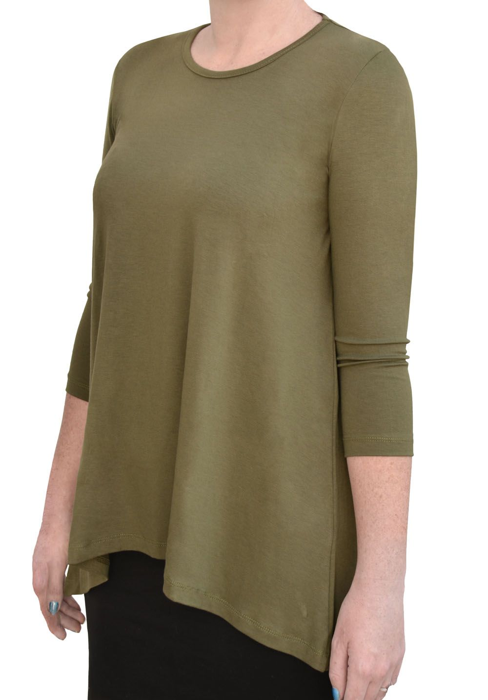 Directional Yet Demure Clothing For The Cool Modern Woman: Modest Tunic That Covers The Parts You Prefer Not To Show