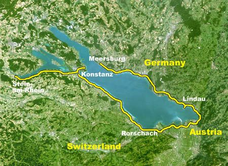 Cycling Lake Constance Lake Constance Or Bodensee Is One Of