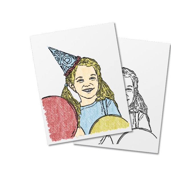 Convert Photos To Coloring Page Reallycolor Com Coloring Pages Diy Coloring Books Coloring Books