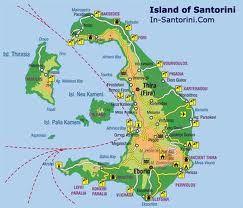 map of greek islands santorini Google Search