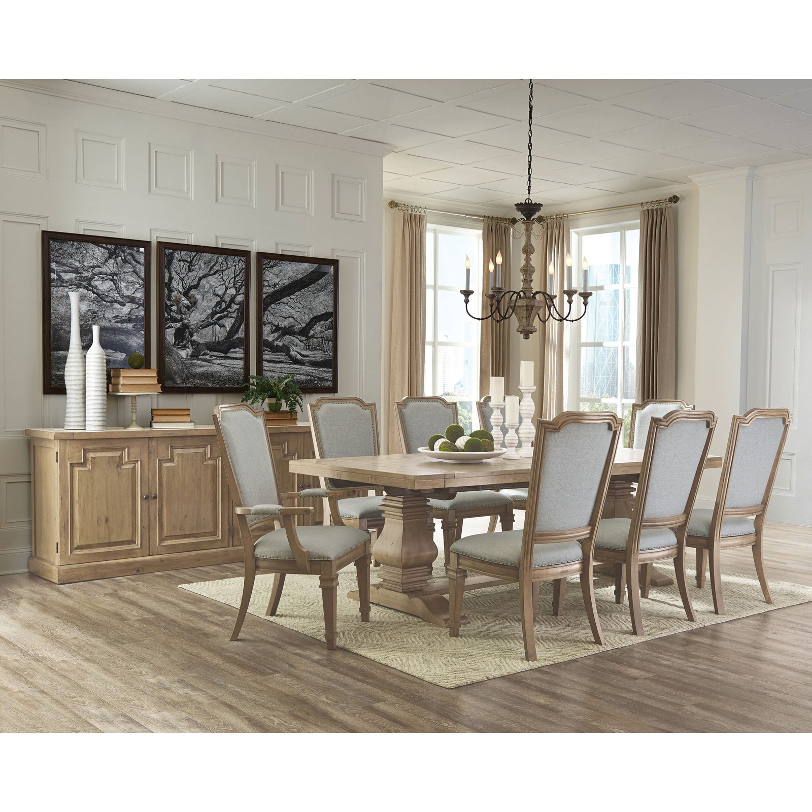 Coaster Furniture Florence 94 In Dining Table Dining Table