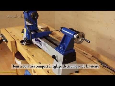Mini Tour A Bois Jean L Ebeniste Mc0430vd Pour Tous Les Travaux De