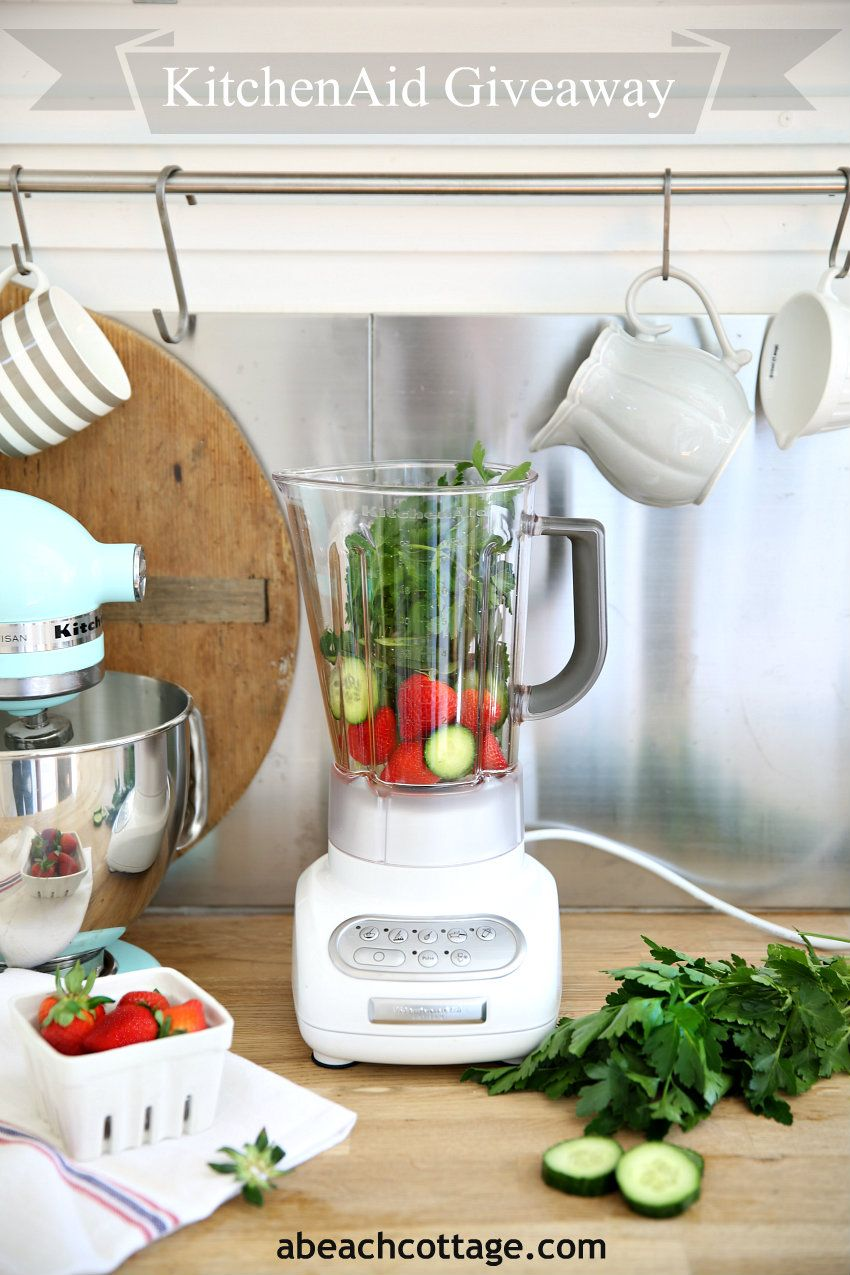 Best A Beach Cottage Kitchenaid Blender Giveaway Kitchen 400 x 300