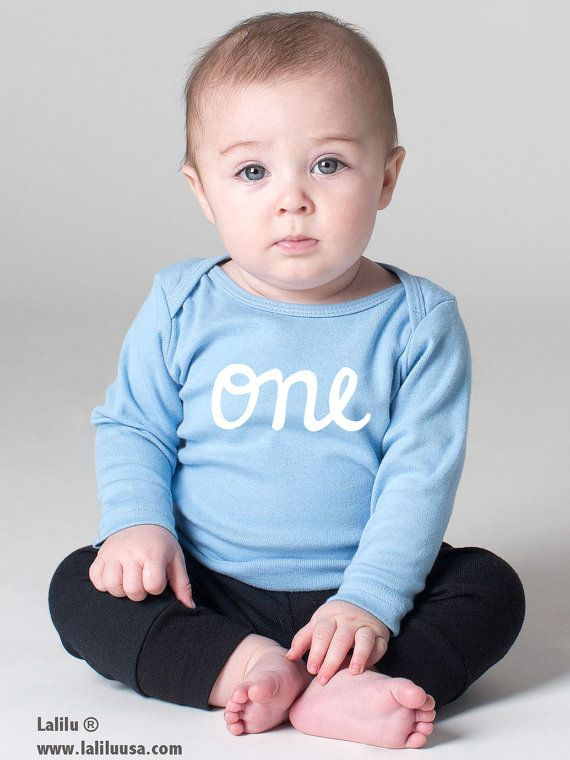 938141c6bd4e9 Baby Boy 1st Birthday Outfit Long Sleeve first birthday