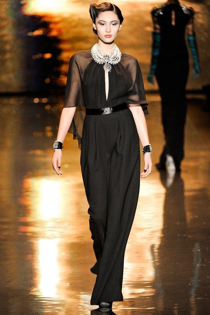 Badgley Mischka Fall 2011 Ready-to-Wear Fashion Show - Bonnie Chen
