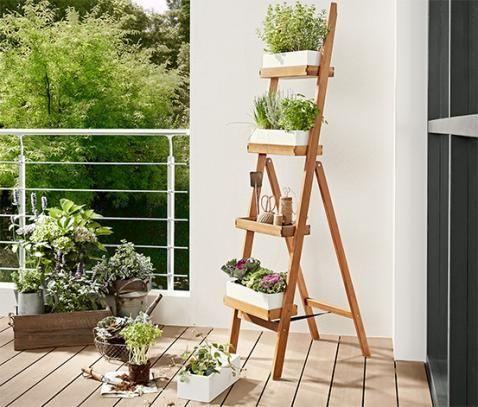 Pflanzleiter Online Bestellen Bei Tchibo 336755 Krautergarten Balkon Pflanzenleiter Pflanzen
