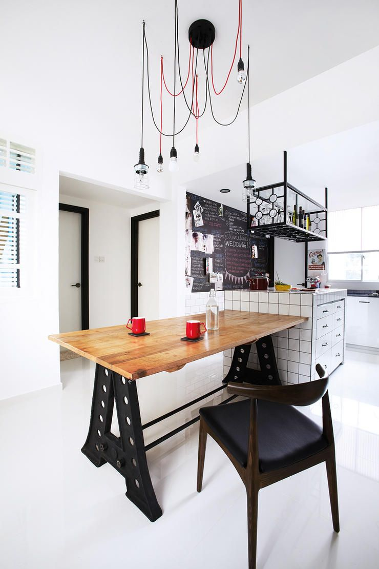 So you want a blackboard in your home? Ideas here! | Industrial ...