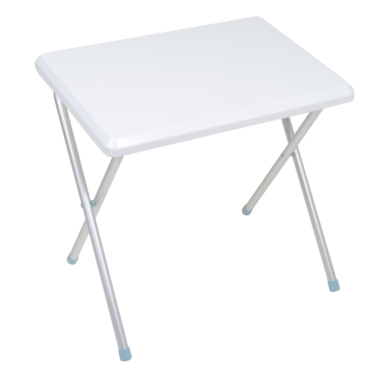 Small White Wooden Folding Table