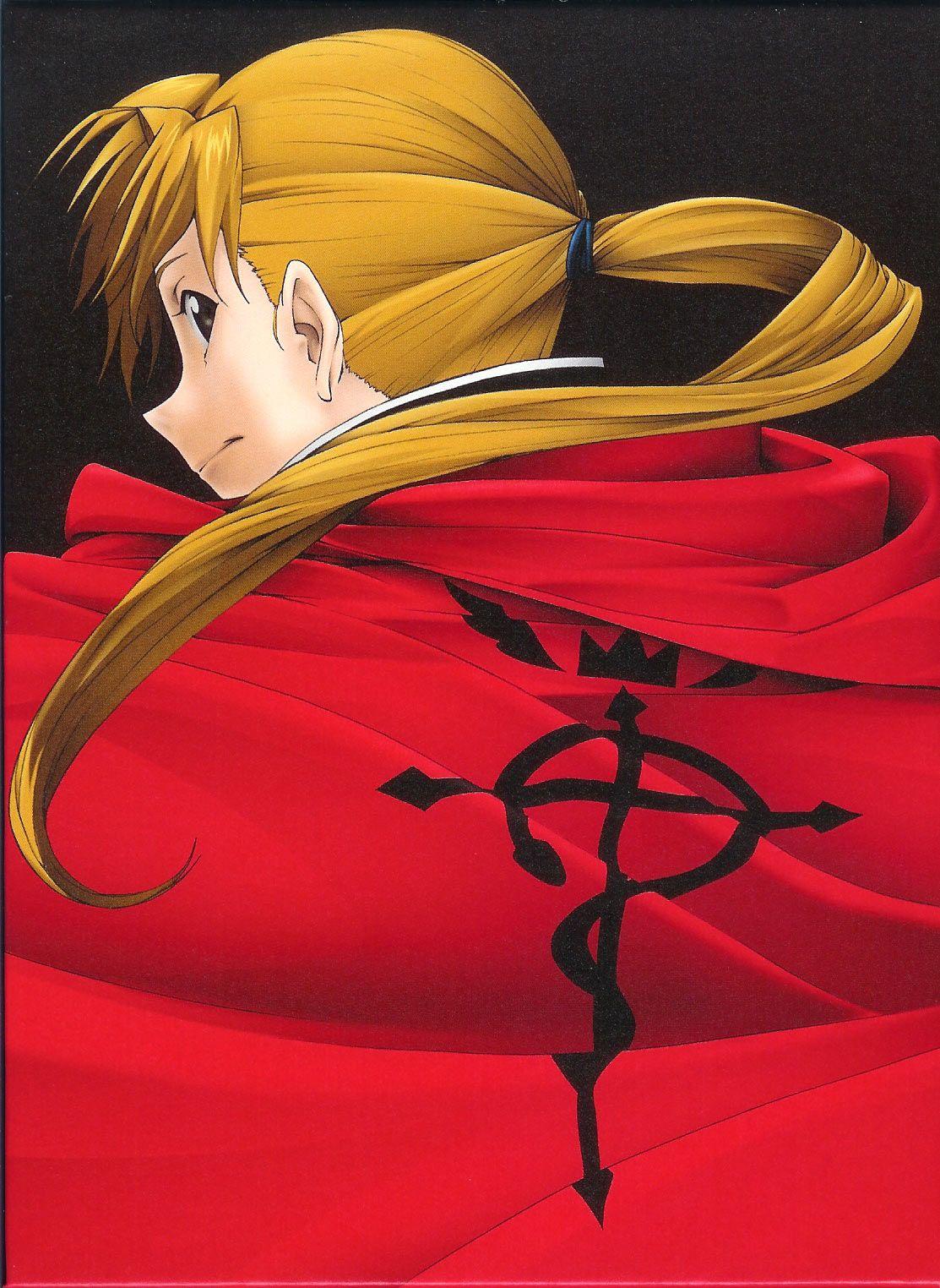 Alphose with Ed's cloak :) | Fullmetal alchemist ...