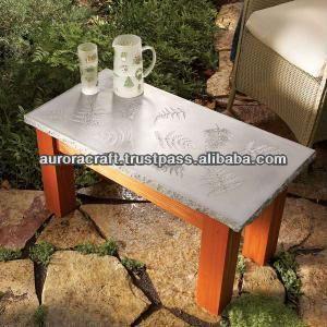 Merveilleux Outdoor Lightweight Concrete Table Top $50~$60