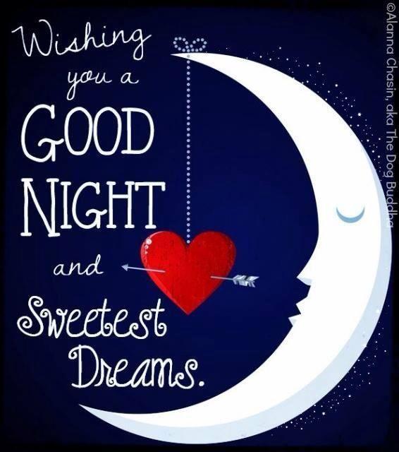good night dear friends hope you have a wonderful night
