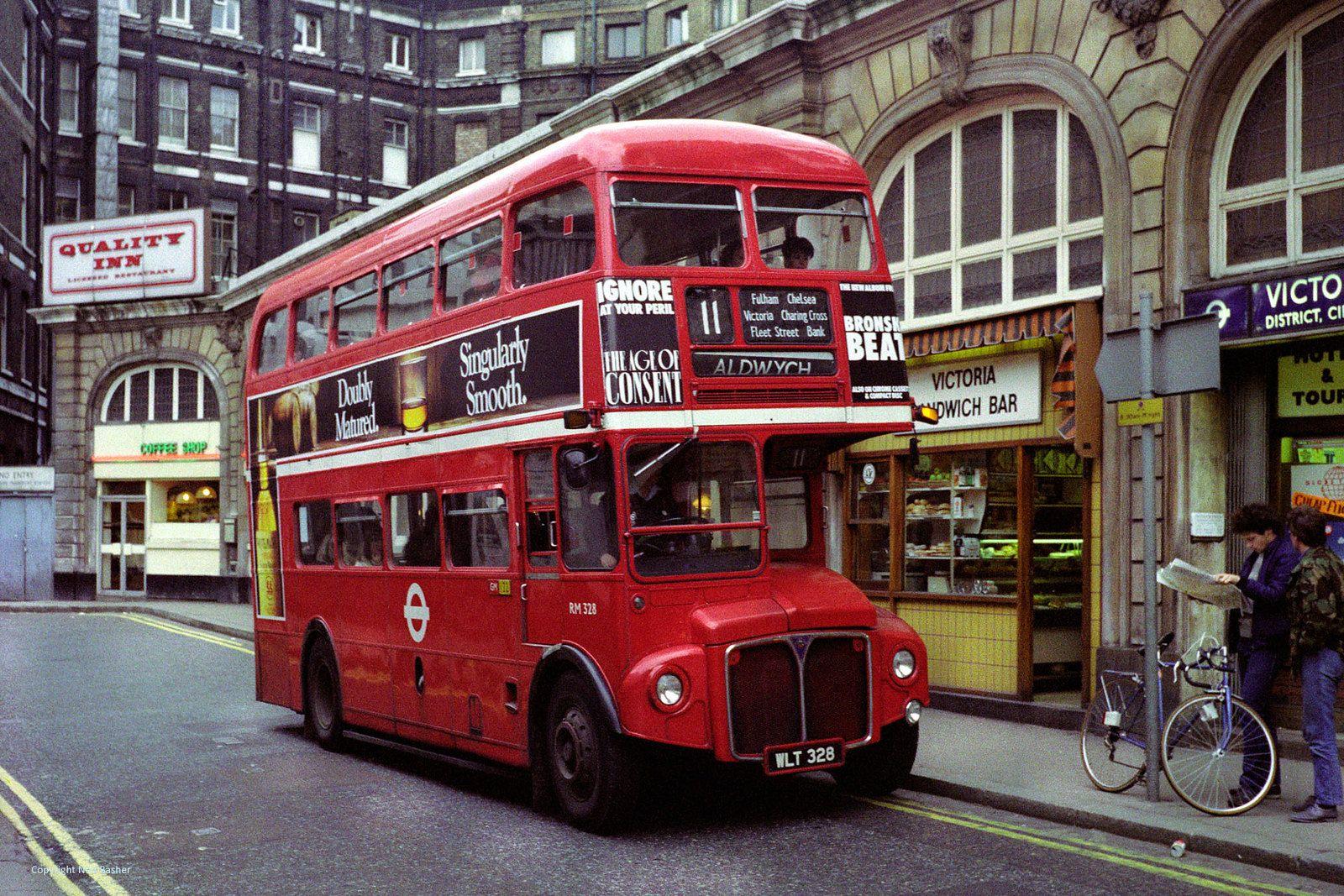 London Transport Aec Routemaster Rm328 Wlt328 London Transport London Bus Routemaster