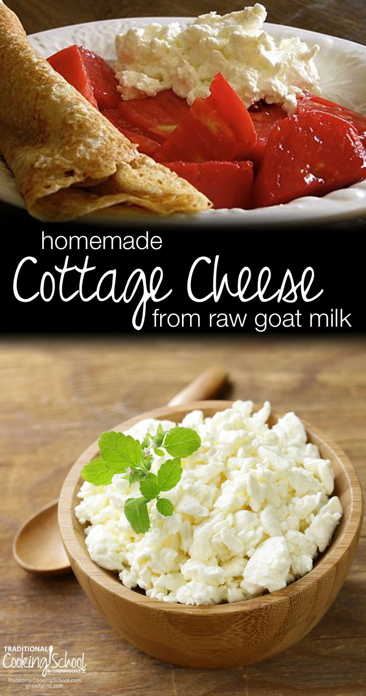 Homemade Cottage Cheese From Raw Goat Milk Recipe Homemade Cottage Cheese Goat Milk Recipes Goat Milk