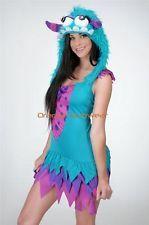 09ac8275831 Sexy Rave Fuzzy Frankie Monster Costume Hood Halloween Costume ...
