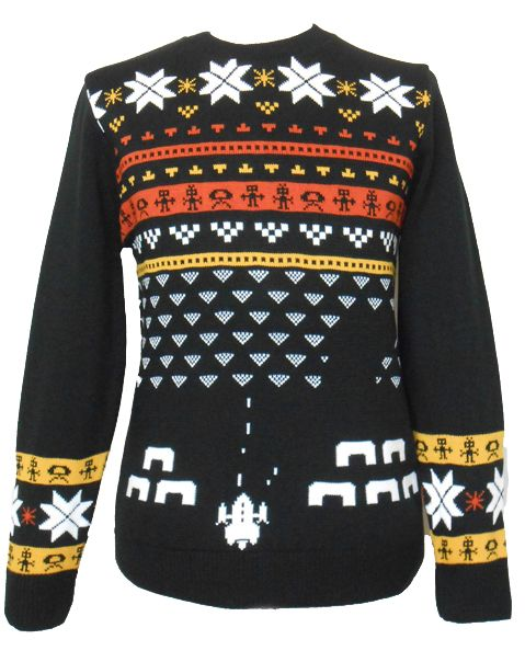 retro shooter video game christmas jumper unisex your video game answer to christmas sweaters