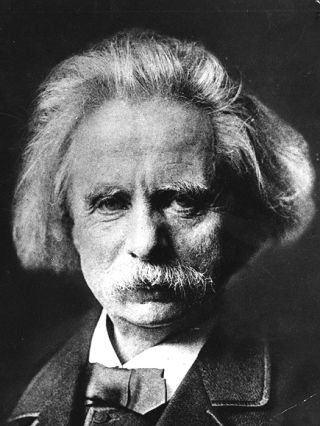 No, it's not Mark Twain  It's Edvard Grieg, one of my favorite