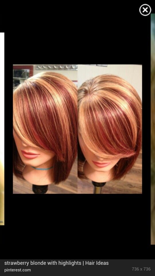 Strawberry Blonde With Highlights In 2019 Red Blonde Hair