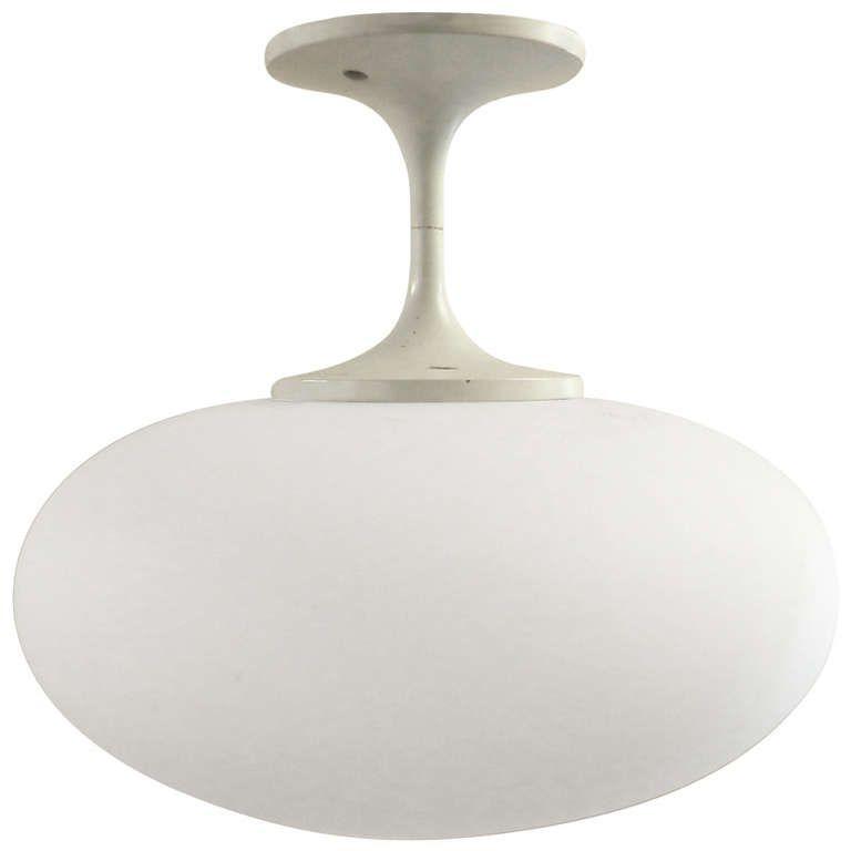Mid Century Modern Tulip Style Ceiling Light By Lightcraft - mid century ceiling light