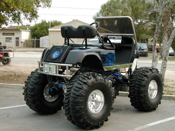 Monster Golf Cart Monster Rides Off Road Golf Cart Lifted Golf