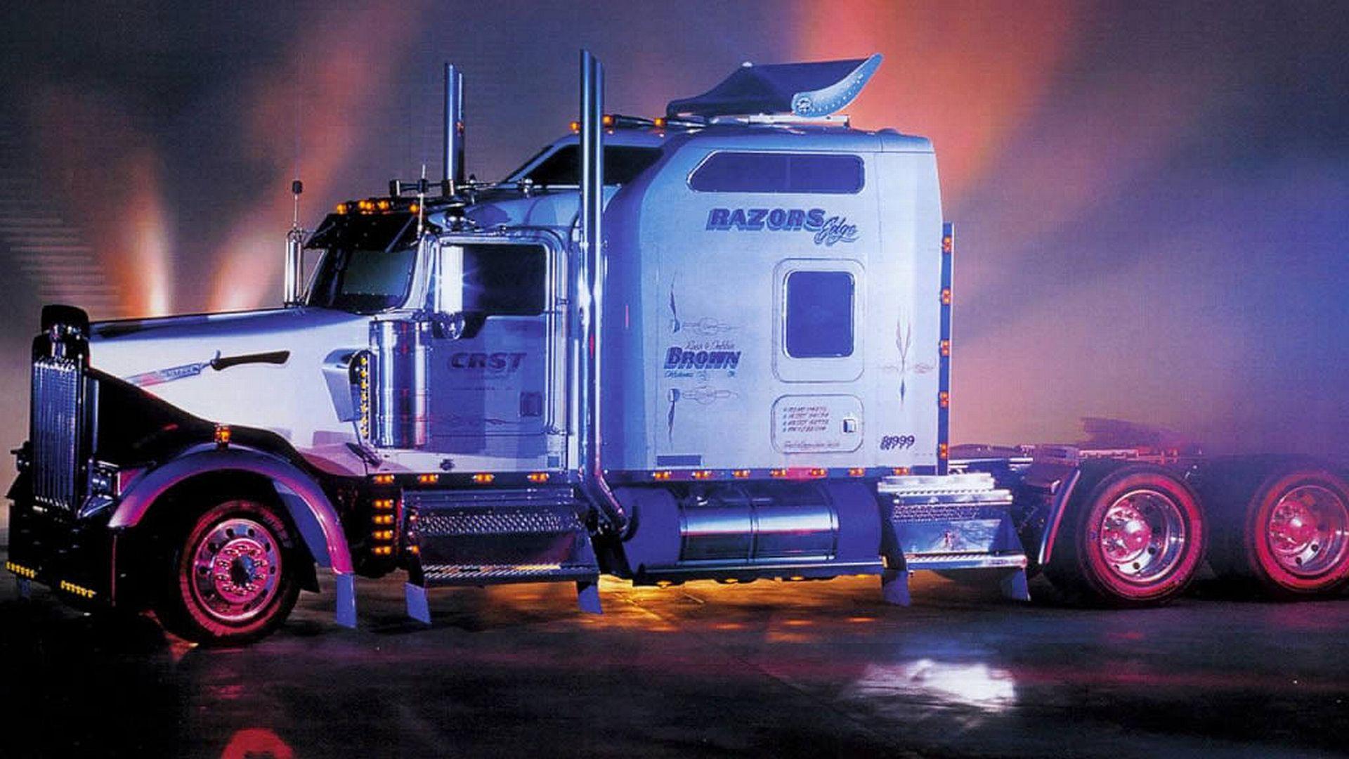 Peterbilt Show Trucks Wallpapers Semi Truck Wallpapers Hd