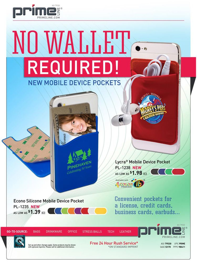 No Wallet Required Promote your business, New mobile, Flyer