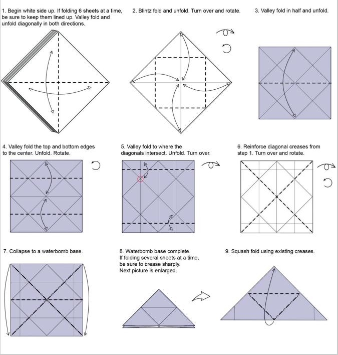 origami fireworks yami yamauchi rh pinterest com Origami Intructions with Fireworks Magic Origami Yami Yamauchi