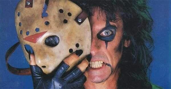Alice Man Behind The Jason Mask Alice Cooper Heavy Metal Metalhead