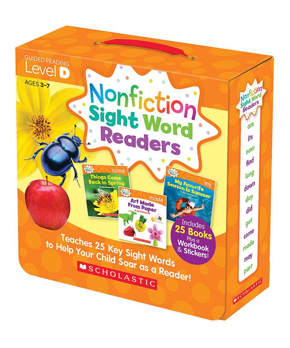 Nonfiction Sight Word Readers Level D Pinterest