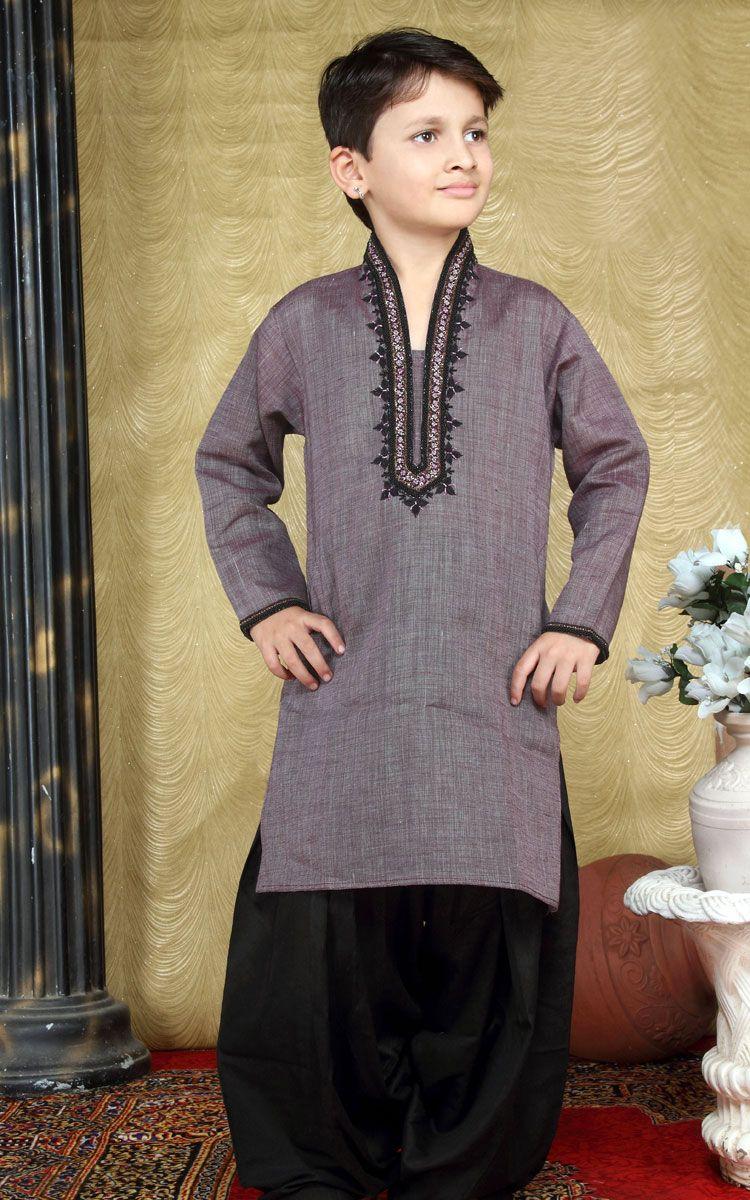 Eid kids kurta shalwar kameez designs 2013 2014 - Boys Kurta Payjama