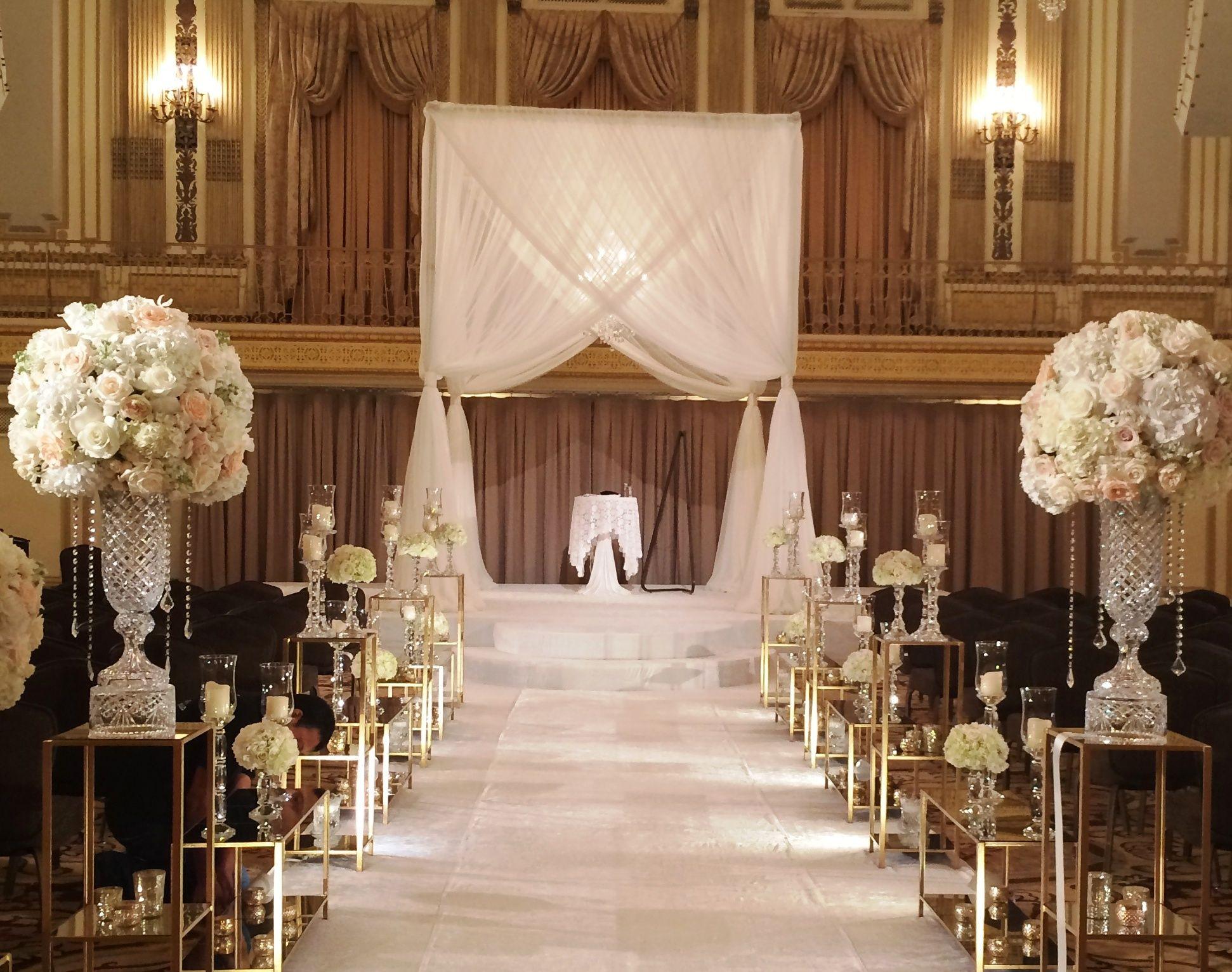 Jewish Wedding Ceremony Decor Wedding Aisle Decorations Aisle