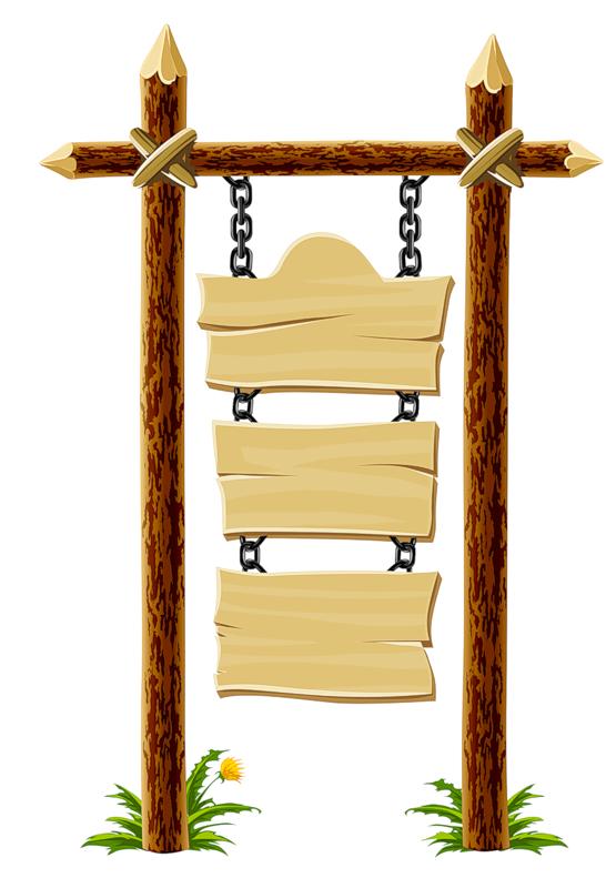 Wooden blank sign frame pinterest clip art