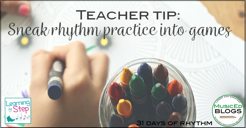 Rhythm Practice For Kindergarten
