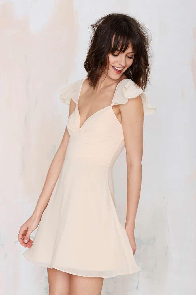 Nasty Gal All A Flutter Dress - Dresses | Going Out | Dresses