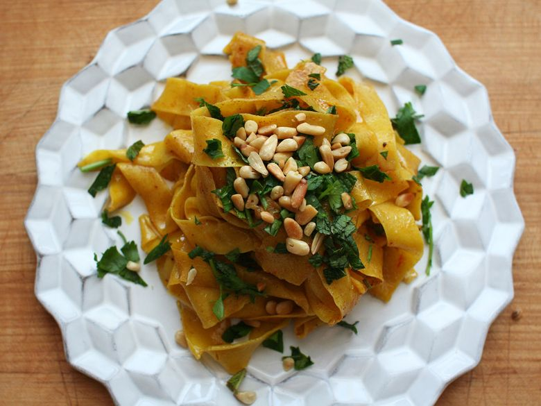 Saffron Pasta with Spiced Butter | Best of the Week February 17, 2014 | Everywhere