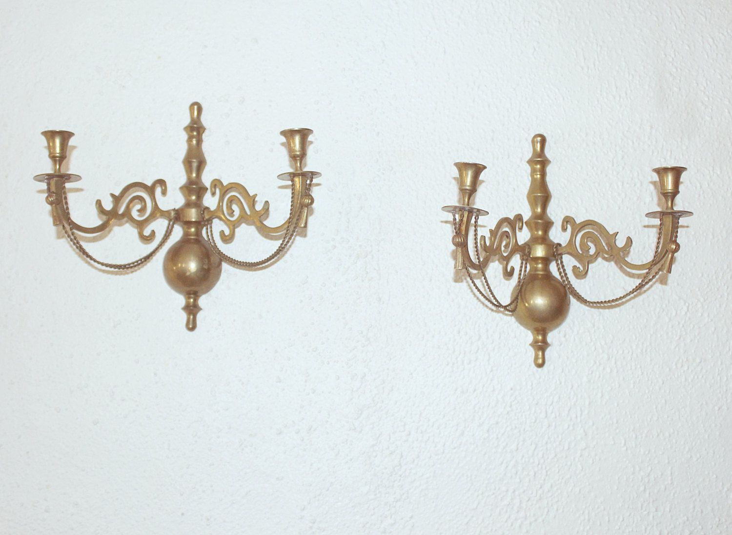 Wall sconces india images home wall decoration ideas antique pair solid brass india double arm candle wall sconces antique pair solid brass india double amipublicfo Choice Image