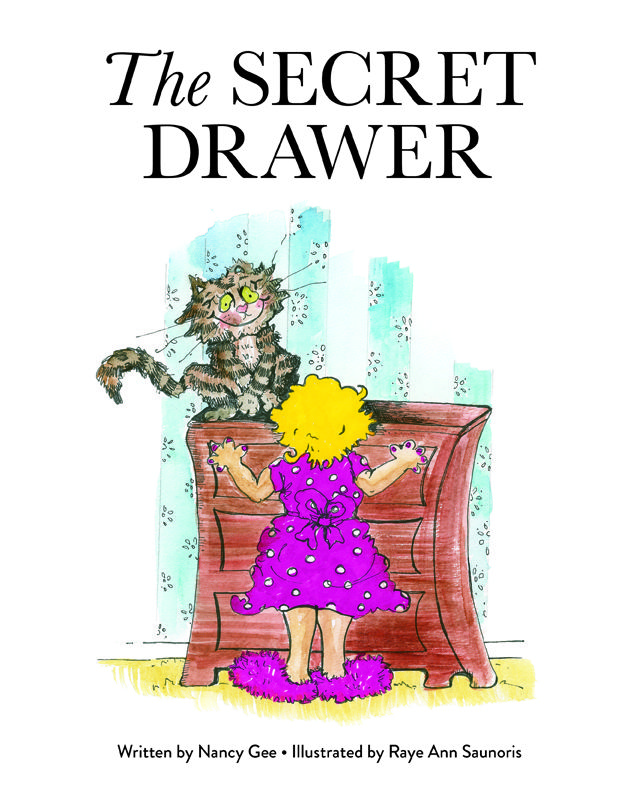 The Secret Drawer by Nancy Gee, illustrations by Raye Ann Saunoris.  The Secret Drawer, based on a true story, was written by Nancy Gee after a real flying squirrel found its way into her bedroom and into her sock drawer. The adventure began when her cat, Odis, refused to budge from the front of the dresser for two long days. Readers of all ages will find this story fascinating and informative. They'll also learn that kindness to animals is returned by them in many unexpected ways.