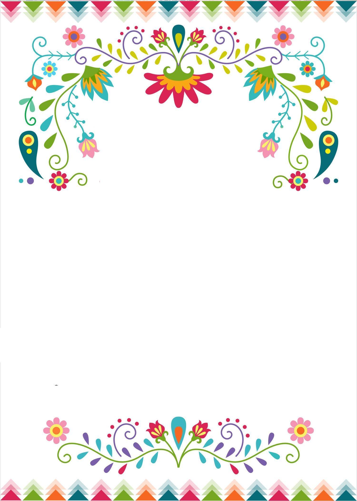 42 Fiesta Invitation Template Free Papel Picado Wedding Invitation Wedding Invitation Templates Fiesta Invitations