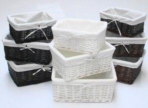 Elegant N Sexy Black Basket Storages