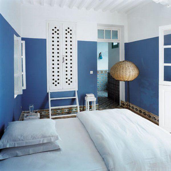 Peinture  La Chaux  Chaux Bleu Et Deco Maroc