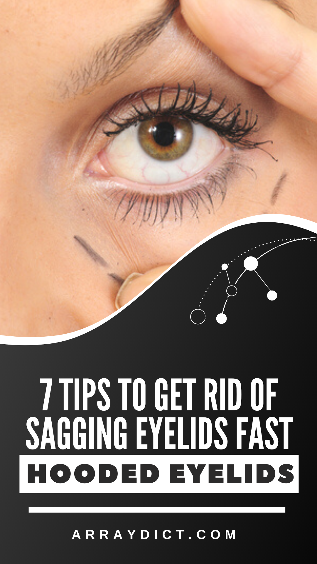 Eye Lift 7 Ways to Get Rid of Hooded Eyelids Without