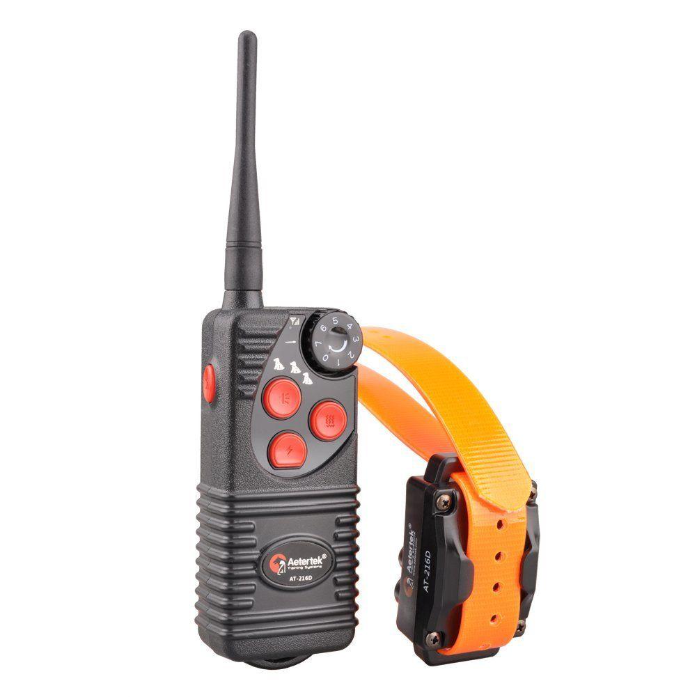 Aetertek Electric Dog Shock Collar 600 Yards Remote Dog Training E