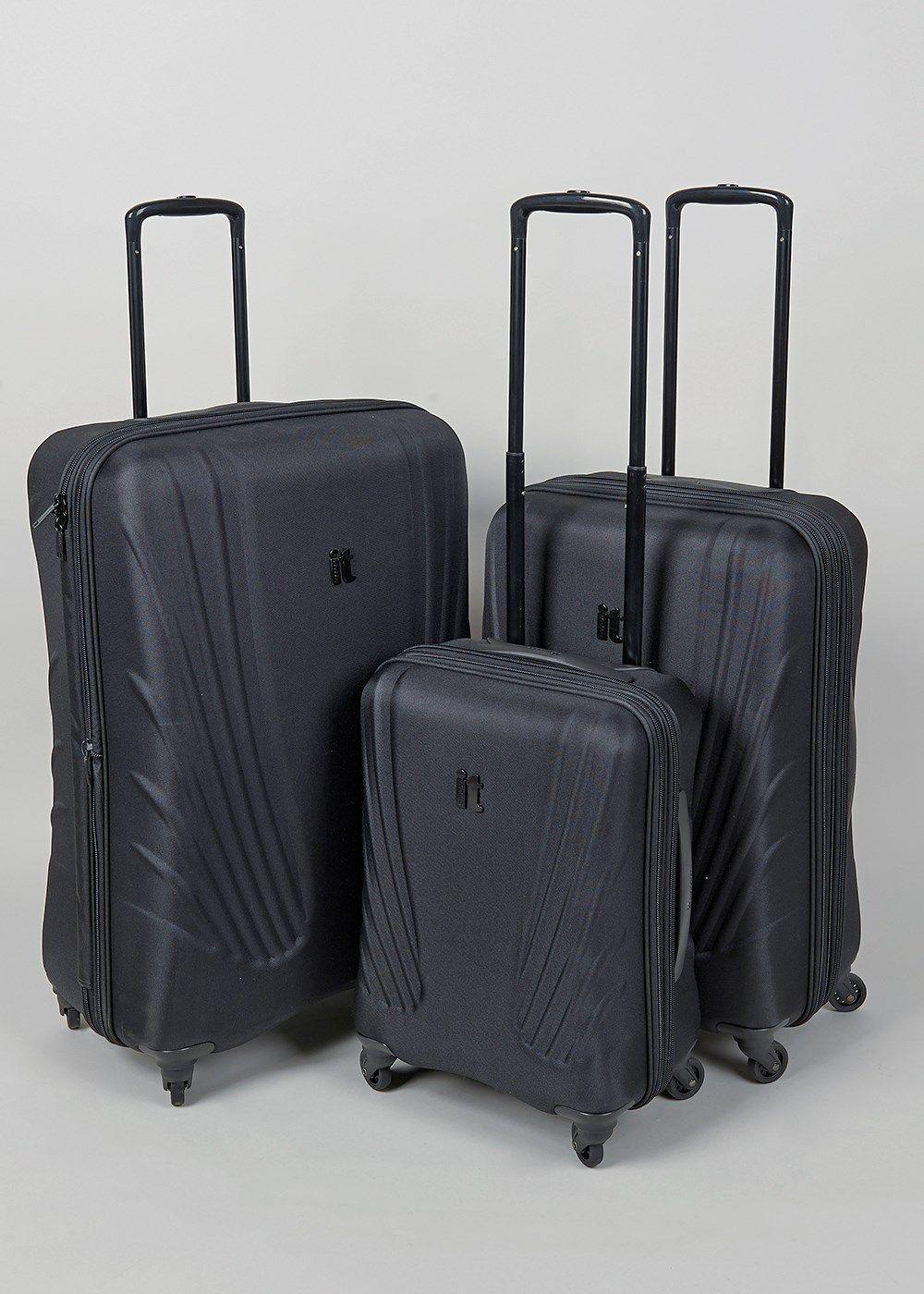 IT Luggage Frameless 4 Wheel Suitcase | Holidaze | Pinterest