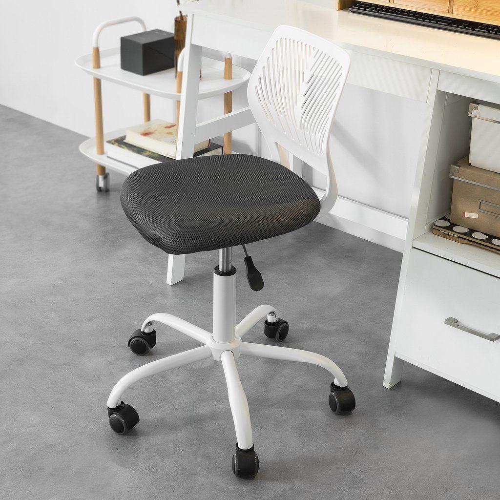 Sedia girevoli per scrivania Sedia cameretta bianco ...