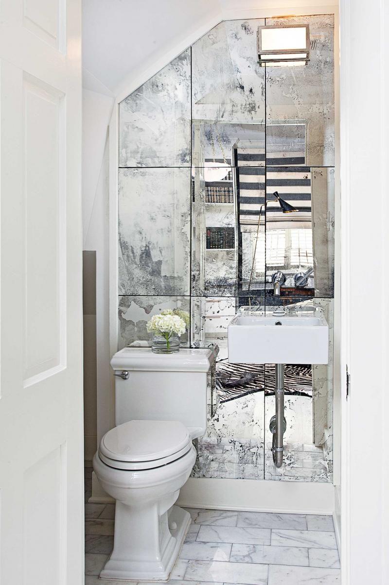 toilet-antique-mirrors-jun15 | Laundry | Pinterest | Toilet ...