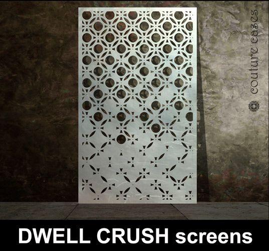 Dwell Crush Laser Cut Metal Panels Laser Cuts Amp Metal