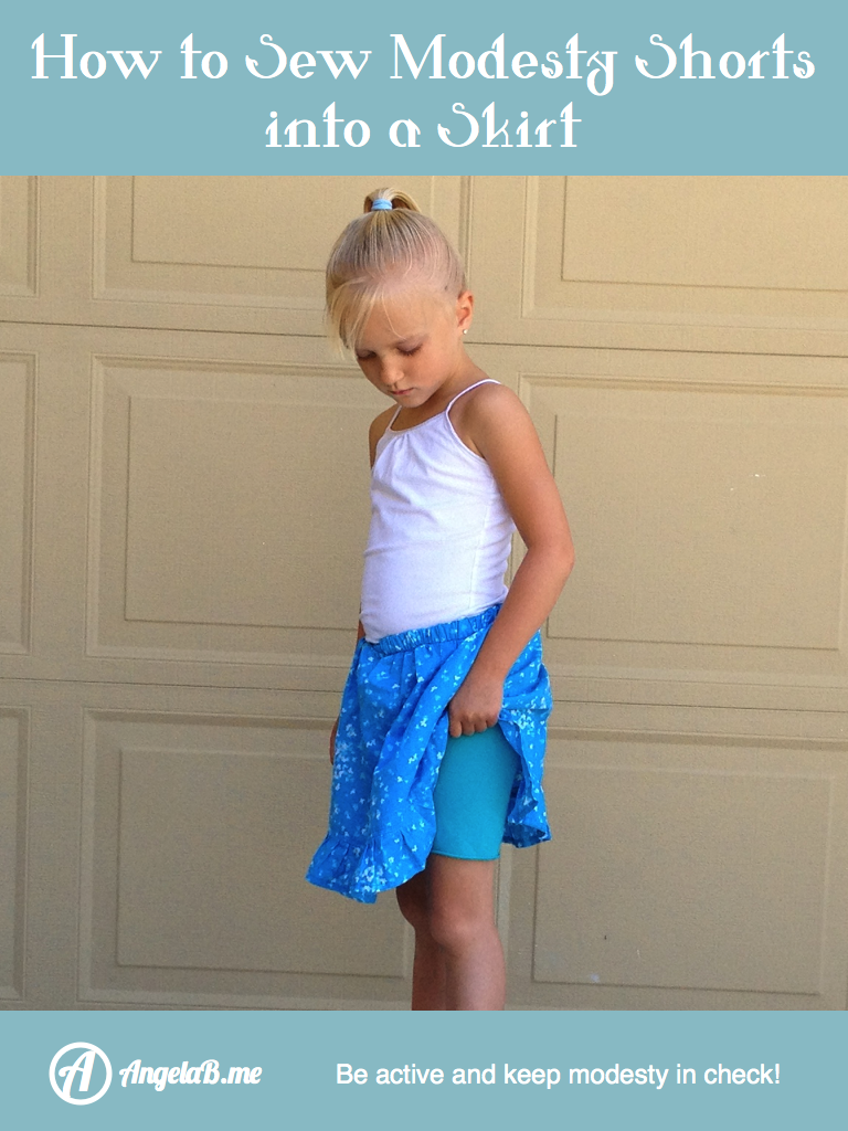 Rock mit eingenähter Radlerhose | Sewing for Children - Pattern ...