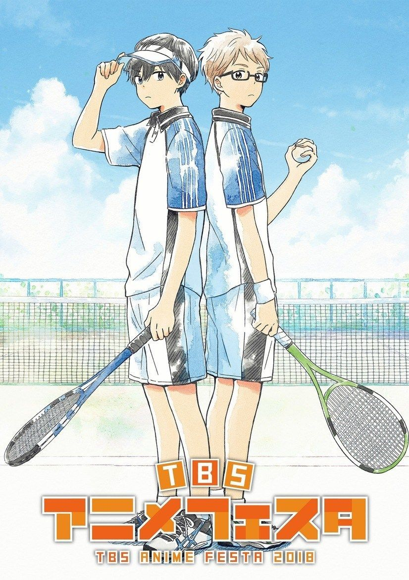 Hoshiai no Sora, un nouvel anime de Tennis à voir No