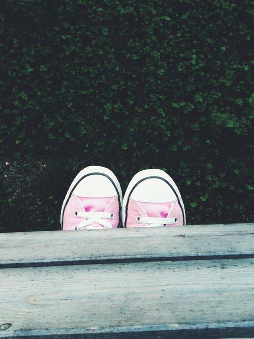 PINK CONVERSE Allstars♥