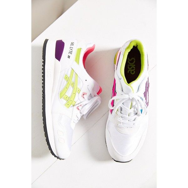 Asics Gel-Lyte III Womens Sneaker ($70) ❤ liked on Polyvore featuring shoes