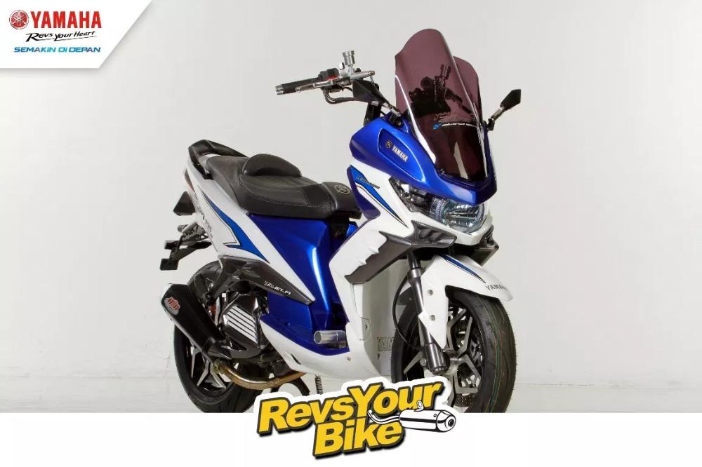 Modifikasi Yamaha Xeon Yamaha Motor Bike